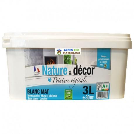 Peinture naturelle végétale 3L MAT