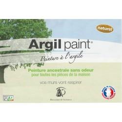 Peinture naturelle ou badigeon à l'argile.