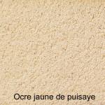 Peinture badigeons à l'argile - Argil paint Terre jaune
