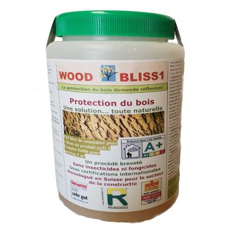 0,25L Wood Bliss traitement curatif et préventif pour le bois.