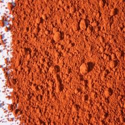 Pigment ocre rouge de puisaye.
