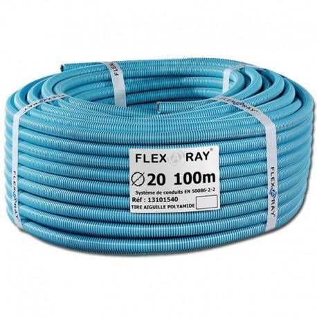Gaine électrique Flex a Ray diamètre 20 mm anti-rayonnement électrique.