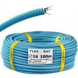 Gaine électrique blindé Prefil'Zen préfilée Flex-a-Ray diamètre 16 mm anti-rayonnement électrique.