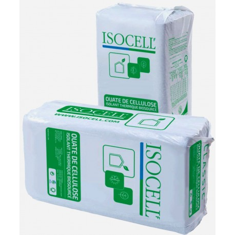 10 kg Ouate de cellulose Isocell France.