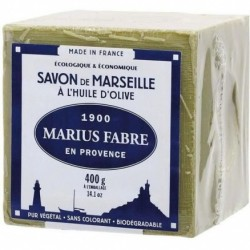 Savon de Marseille traditionnel 400 gr.