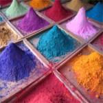 Pigmentation minérale