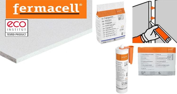 Fermacell plaque et accessoires.