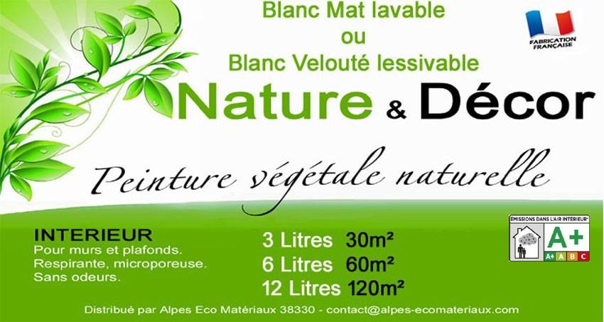 Peinture naturelle nature et décor